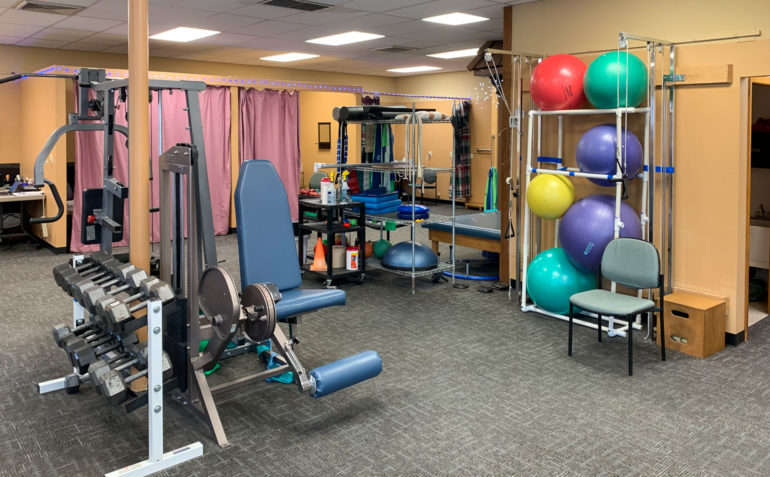 PT Northwest Physical Therapy Castle Rock WA Clinic Interior