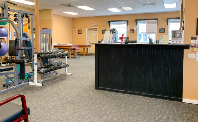 PT Northwest Physical Therapy Castle Rock WA Reception Area