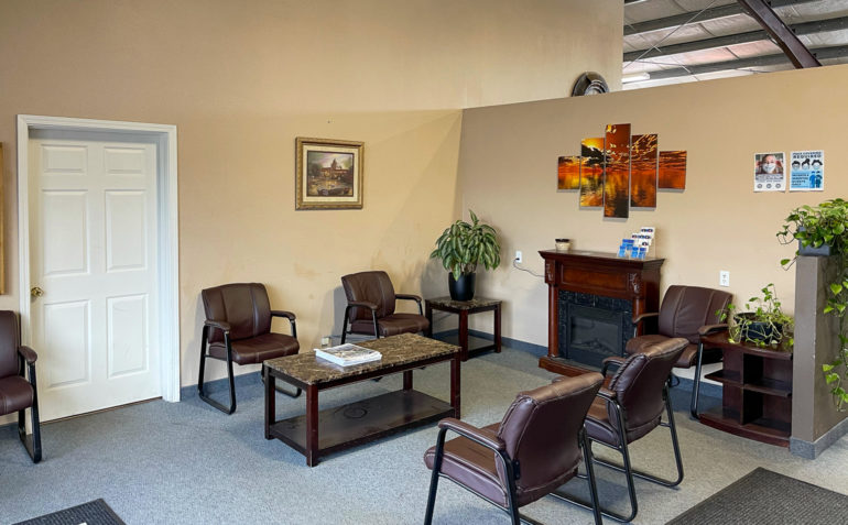 PT Northwest Physical Therapy Longview WA Reception Area